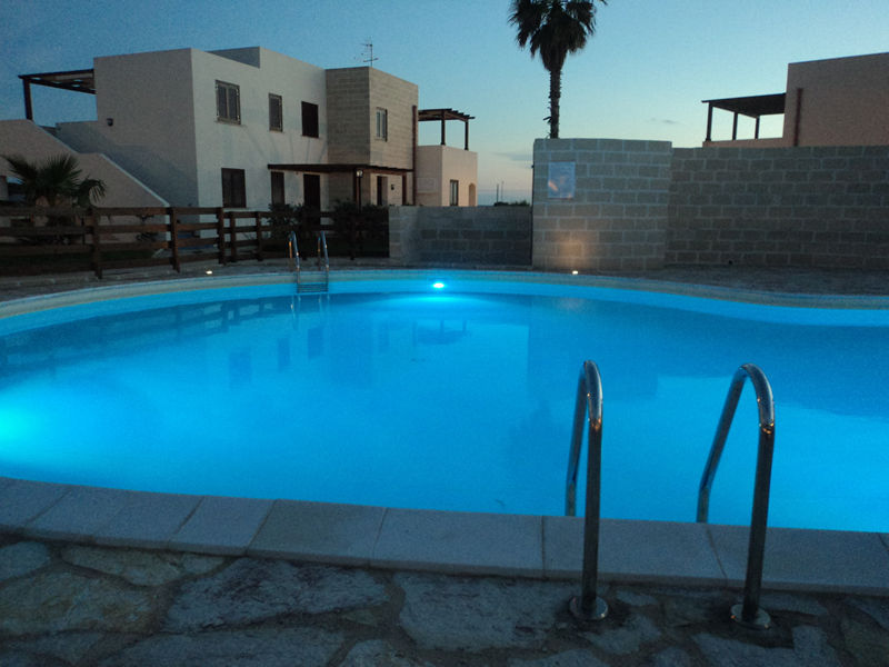 Swimming pool of the Residence in Favignana